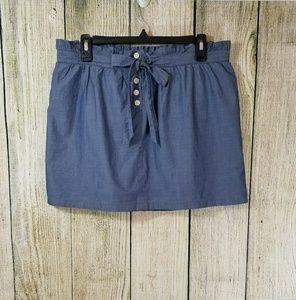 J.CREW paper bag skirt